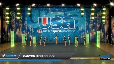 Canyon High School [2020 Small JV Song/Pom Intermediate (5-9) Day 3] 2020 USA Spirit Nationals