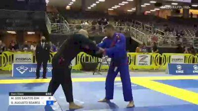 MAX DOS SANTOS GIMENIS vs GUILHERME AUGUSTO SOARES SANTOS 2021 Pan Jiu-Jitsu IBJJF Championship