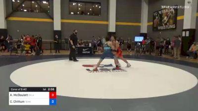 67 kg Consolation - Alec McDoulett, Oklahoma vs Cody Chittum, Tennessee