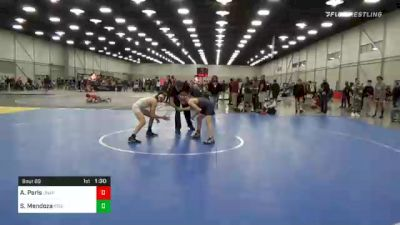 95 lbs Final - Seth Mendoza, Region Wrestling Academy vs Austin Paris, Unaffiliated