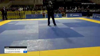 ARNALDO MAIDANA DE OLIVEIRA vs GUILHERME AUGUSTO SOARES SANTOS 2020 Pan Jiu-Jitsu IBJJF Championship