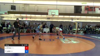 70 kg Consi Of 8 #2 - John Errico, Prtc vs Ty Lydic, Griffin Wrestling Club