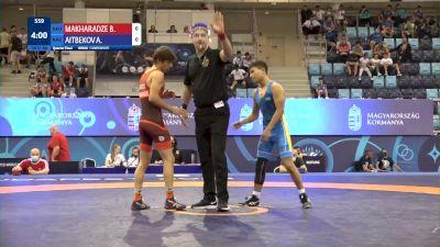 51 kg 1/4 Final - Beso Makharadze, Georgia vs Aibek Aitbekov, Kazakhstan