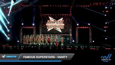 Famous Superstars - Vanity [2020 L5 Senior Coed - Large Day 2] 2020 JAMfest Cheer Super Nationals