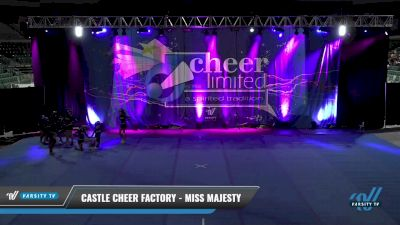 Castle Cheer Factory - Miss Majesty [2021 L3 Junior - D2 - Small] 2021 Cheer Ltd Open Championship: Trenton