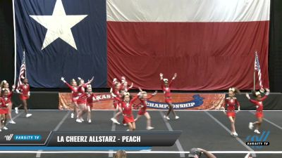 LA Cheerz Allstarz - Peach [2021 L1 Youth - D2 - Small Day 2] 2021 ACP Power Dance Nationals & TX State Championship