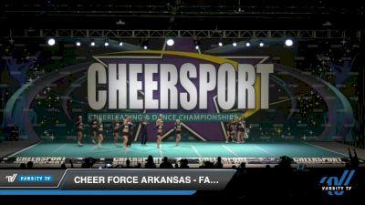 Cheer Force Arkansas - Falcons [2020 Senior XSmall Coed 6 Division B Day 2] 2020 CHEERSPORT National Cheerleading Championship