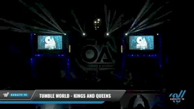 Tumble World - Kings and Queens [2021 L6 Senior Coed Open - Small Day 2] 2021 COA: Midwest National Championship