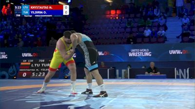 130 kg Repechage #2 - Mantas Knystautas, Lithuania vs Osman Yildirim, Turkey