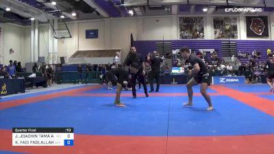 JOHNNY JOACHIN TAMA APOLINARIO vs KHALIL FADI FADLALLAH 2019 Pan IBJJF Jiu-Jitsu No-Gi Championship