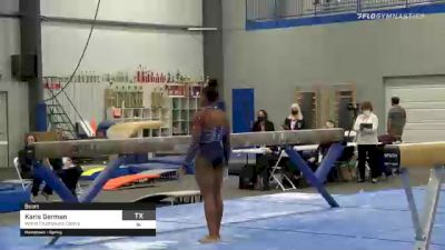 Karis German - Beam, World Champions Centre - 2021 American Classic and Hopes Classic