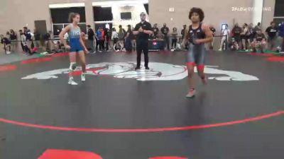 59 kg 5th Place - Xochitl Mota-Pettis, TX vs Sofia Macaluso, NY