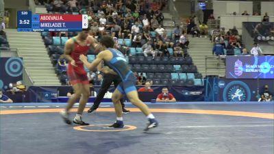 71 kg 1/8 Final - Alireza Morad Abdevali, Iran vs Tornike Mikeladze, Georgia