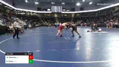 285 lbs Prelims - Nico Ramirez, Southern Virginia University vs Rayshawn Dixon, Ferrum College
