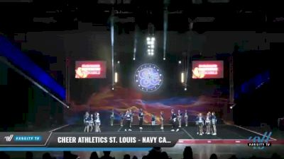 Cheer Athletics St. Louis - Navy Cats [2021 L6 International Open Coed - NT Day 2] 2021 GLCC: The Showdown Grand Nationals