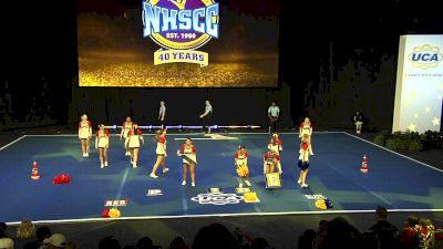 Los Alamitos High School [2020 Small Varsity Non Tumbling Finals] 2020 UCA National High School Cheerleading Championship
