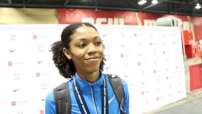 Vashti Cunningham Gets The Five-Peat In The High Jump