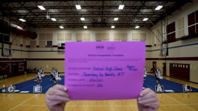 Central High School [Game Day Large Varsity - Non Tumble] 2021 UCA February Virtual Challenge