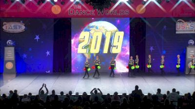 Energizers [2019 Senior Large Pom Finals] 2019 The Dance Worlds