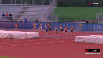 Women's 800m Unseeded, Heat 2
