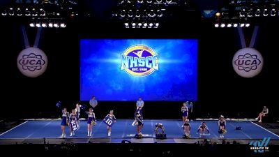 St Michael Albertville High School [2019 Small Varsity Non Tumbling Finals] 2019 UCA National High School Cheerleading Championship