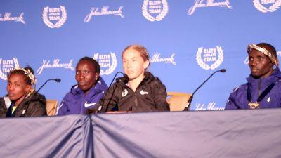 Paula Radcliffe Encouraged Jordan Hasay Before Her Third-Place Boston Finish