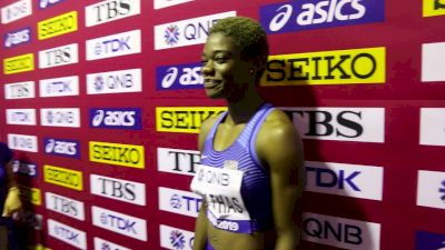 Wadeline Jonathas Wins 400m Heat, Has To Work On A Paper Tonight