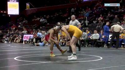 174lbs - Joseph Grello (Rutgers) vs Brock Biddle (Pitt-Johnstown)