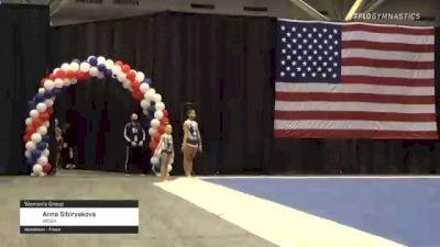 Anna Sibiryakova & Jada Beard - 27.100 Women's Group, WOGA - 2021 USA Gymnastics Championships