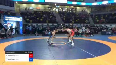 65 kg Semifinal - Jaydin Eierman, TMWC/ Hawkeye Wrestling Club vs Luke Pletcher, TMWC/ Pittsburgh Wrestling Club