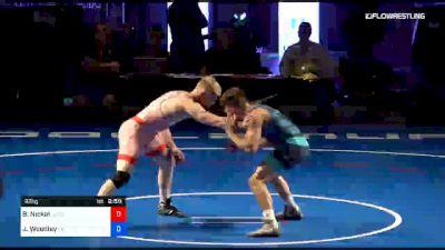 92 kg 2 Of 3 - Bo Nickal, Nittany Lion Wrestling Club vs Jakob Woodley, Oklahoma