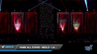FAME All Stars - Midlo - Lady Crush [2019 Senior - Medium 4 Day 1] 2019 JAMfest Cheer Super Nationals