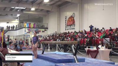 Emily Galan - Beam, Texas Dreams - 2021 Region 3 Women's Championships