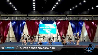 Cheer Sport Sharks - Cambridge - Crown Sharks [2020 L2 Junior - Medium Day 2] 2020 The American Majestic DI & DII
