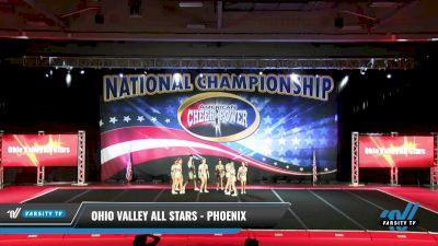 Ohio Valley All Stars - Phoenix [2021 L5 Senior Coed - Small Day 1] 2021 ACP: Midwest World Bid National Championship