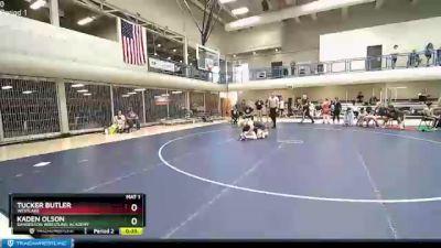 150 lbs 1st Place Match - Kaden Olson, Sanderson Wrestling Academy vs Tucker Butler, Westlake