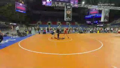 145 lbs Consi Of 8 #2 - Clay Radenz, North Dakota vs Richard Fedalen, Maryland