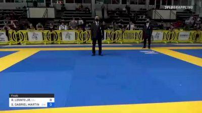 RAFAEL LOVATO JR. vs STEPHEN GABRIEL MARTINEZ 2021 Pan IBJJF Jiu-Jitsu No-Gi Championship