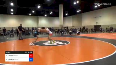 65 kg Consolation - Gabriel Onorato, Pennsylvania RTC vs Hunter Gilmore, Unattached