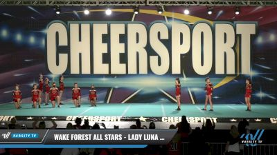 Wake Forest All Stars - Lady Luna Wolves [2021 L2 Senior - D2 Day 1] 2021 CHEERSPORT: Charlotte Grand Championship