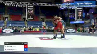 77 kg Rr Rnd 5 - Rashad Kennedy, Minnesota vs Austin Farabaugh, Army (WCAP)