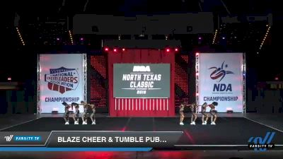 - Blaze Cheer & Tumble Public Enemy [2019 Senior 4.2 Day 1] 2019 NCA North Texas Classic