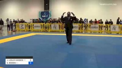 JOHN LESLIE HANSEN vs GIANCARLO BODONI 2020 IBJJF Pan No-Gi Championship