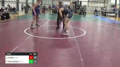 182 lbs Rr Rnd 5 - Donnie Hidden, Cobra Kai vs Peter Marinopolous, Team Gotcha
