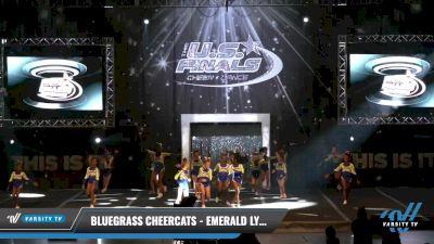 Bluegrass Cheercats - Emerald Lynx [2021 L1.1 Mini - PREP - D2 - B Day 1] 2021 The U.S. Finals: Louisville