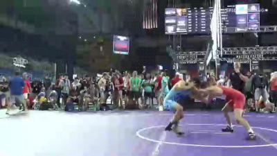 145 lbs Round Of 32 - Caleb Rathjen, Iowa vs Benny Rogers, New York