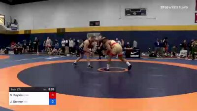 97 kg Quarterfinal - Scottie Boykin, Spartan Combat RTC vs Jaden Sonner, Indiana