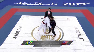 Manuel Filho vs Dj Jackson 2019 Abu Dhabi King of Mats