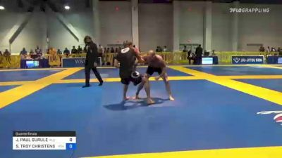 JOHN PAUL GURULE vs SCOTT TROY CHRISTENSEN 2021 American National IBJJF Jiu-Jitsu Championship
