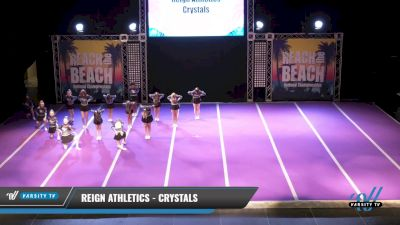 Reign Athletics - Crystals [2021 L1 Junior - D2 Day 2] 2021 ACDA: Reach The Beach Nationals